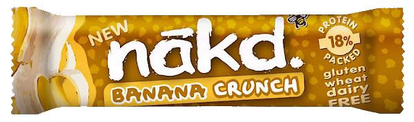 nakd Banana Crunch Riegel (Natural Balance Foods)